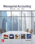 Whitecotton Managerial Accounting 3e and Connect present an integrated and proven solution designed to help attain course goals of student readiness and motivation comprehension of content and application of key concepts