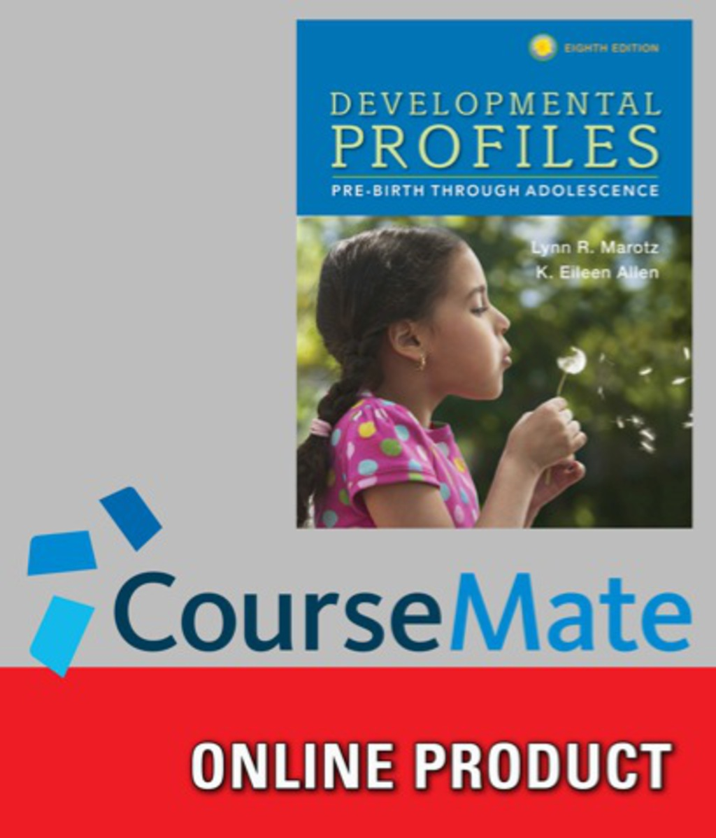 CourseMate, 1 term (6 months) Instant Access for Marotz/Allen's Developmental Profiles: Pre-Birth Through Adolescence (ebook)