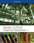 Design Of Fluid Thermal Systems, Si Edition