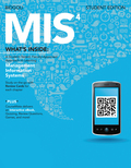 """Created by the continuous feedback of a """"student-tested, faculty-approved"""" process, MIS4 delivers a visually appealing, succinct print component, tear-out review cards for students and instructors and a consistent online offering with CourseMate that includes an eBook in addition to a set of interactive digital tools all at a value-based price and proven to increase retention and outcomes."""