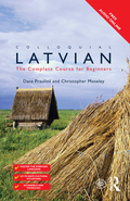 This new edition of Colloquial Latvian has been completely rewritten to make learning Latvian easier and more enjoyable than ever before! Specially written by experienced teachers for self-study or class use, the course offers a step-by-step approach to written and spoken Latvian