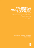 Filling a gap in the sound recordings of traditional Anglo-American folk music this volume covers both vocal and instrumental material from the 1920s to the 1990s