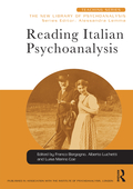 Reading Italian Psychoanalysis 9781317388128R90