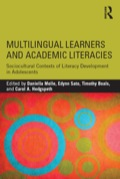 Multilingual Learners and Academic Literacies 9781317540021R90