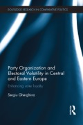 Political parties in post-communist countries have very high levels of electoral volatility