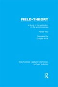 This is an important account of the development of the 'field-theory' approach in the social sciences