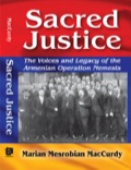 Sacred Justice is a cross-genre book that uses narrative, memoir, unpublished letters, and other primary and secondary sources to tell the story of a group of Armenian men who organized Operation Nemesis, a covert operation created to assassinate the Turkish architects of the Armenian Genocide