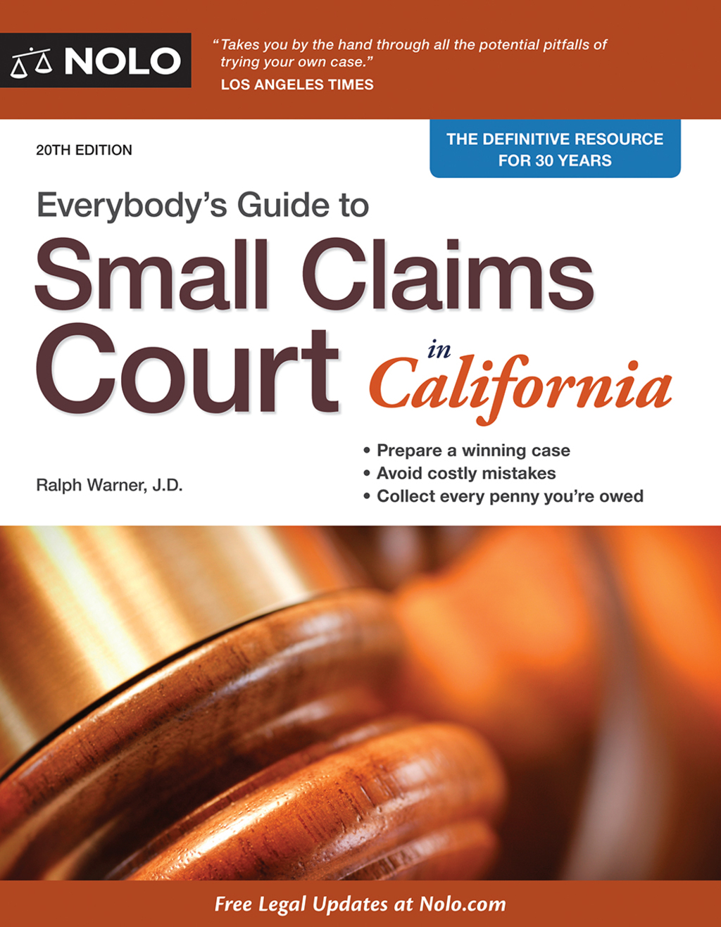 Everybody's Guide to Small Claims Court in California (ebook) eBooks