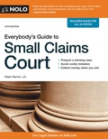 Everybody's Guide to Small Claims Court 9781413322187