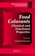 Drawing on the expertise of internationally known, interdisciplinary scientists and researchers, Food Colorants: Chemical and Functional Properties provides an integrative image of the scientific characteristics, functionality, and applications of color molecules as pigments in food science and technology, as well as their impact on health