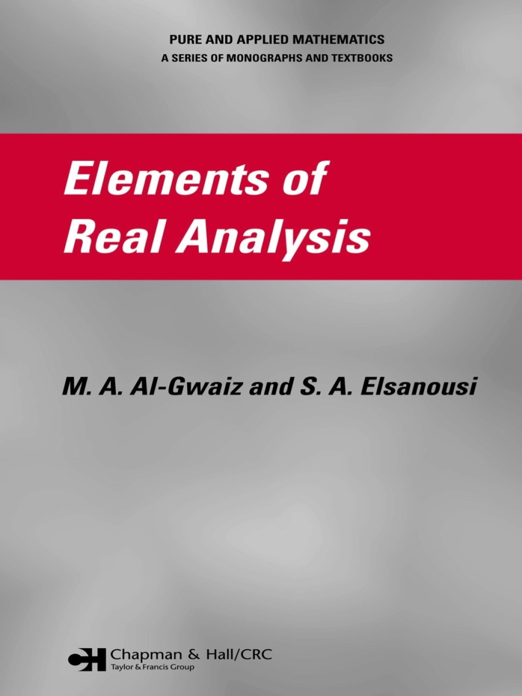Elements of Real Analysis (ebook) eBooks