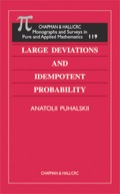 In the view of many probabilists, author Anatolii Puhalskii's research results stand among the most significant achievements in the modern theory of large deviations
