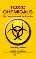 Catastrophic events such as the Bhopal, India tragedy and rising incidences of cancer in areas neighboring industrial facilities have heightened concern over the use of toxic chemicals in manufacturing and industry, particularly with respect to long-term exposure