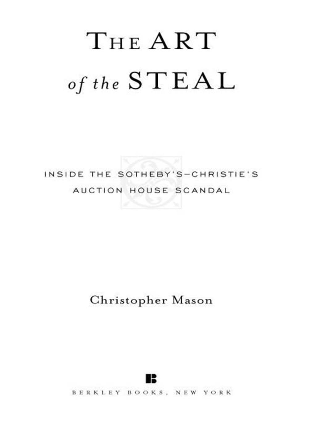 The Art of the Steal (ebook) eBooks