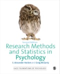 Research Methods and Statistics in Psychology 9781446297582R180