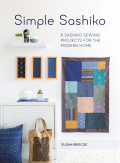Learn the big stitch technique of Sashiko with these 8 simple sashiko sewing projects