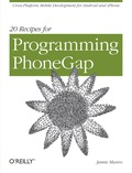 Gain hands-on experience with the amazing PhoneGap library, using the practical recipes in this handy guide