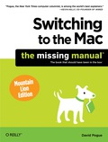Ready to move to the Mac? This incomparable guide helps you make a smooth transition