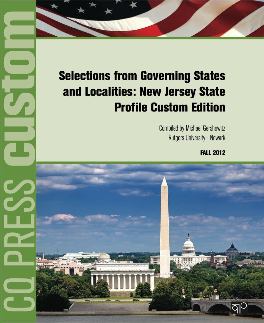 CUSTOM: Selections from Governing States and Localities: New Jersey State Profile Custom Edition (ebook) eBooks