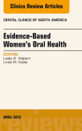 This issue of Dental Clinics features expert clinical reviews on Evidence-Based Women's Oral Health which includes current information on topics such as strategic planning for prioritizing oral health gender disparities, oral health gender disparities and systemic health, oral health gender disparities and reproductive health, oral cancer in women, risk assessment and management, tooth loss, dietary behaviors and oral health in women, enamel erosion, violence and abuse, temporomandibular joint disorder, gender differences and the aging and diseased jaw, patient-provider interactions, and pathways to assure evidence-based women's oral health.