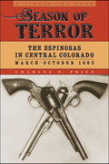 Season of Terror is the first book-length treatment of the little-known true story of the Espinosas—serial murderers with a mission to kill every Anglo in Civil War–era Colorado Territory—and the men that brought them down.For eight months during the spring and fall of 1863, brothers Felipe Nerio and José Vivián Espinosa and their young nephew, José Vincente, New Mexico–born Hispanos, killed and mutilated an estimated thirty-two victims before their rampage came to a bloody end