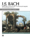 Palmer's edition of this well known work from the Well-Tempered Clavier is exceptional for the scholarship of its footnotes which compare various editions and their similarities and differences, as well as giving performance suggestions, and editorial additions in gray.