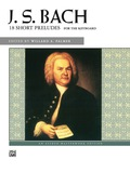 Collected from several sources, these teaching pieces were published separately in the 18th and 19th centuries as the Twelve Short Preludes and the Six Short Preludes. Students are often introduced to these works prior to studying the Two-Part Inventions (Alfred Edition 22528)