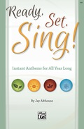 """The five SAB anthems contained in this collection are ready when you need them most! Slim Sundays, """"blizzard"""" Sundays, summer choir, or any time an easily prepared anthem is needed quickly because of brief rehearsal time or limited resources"""