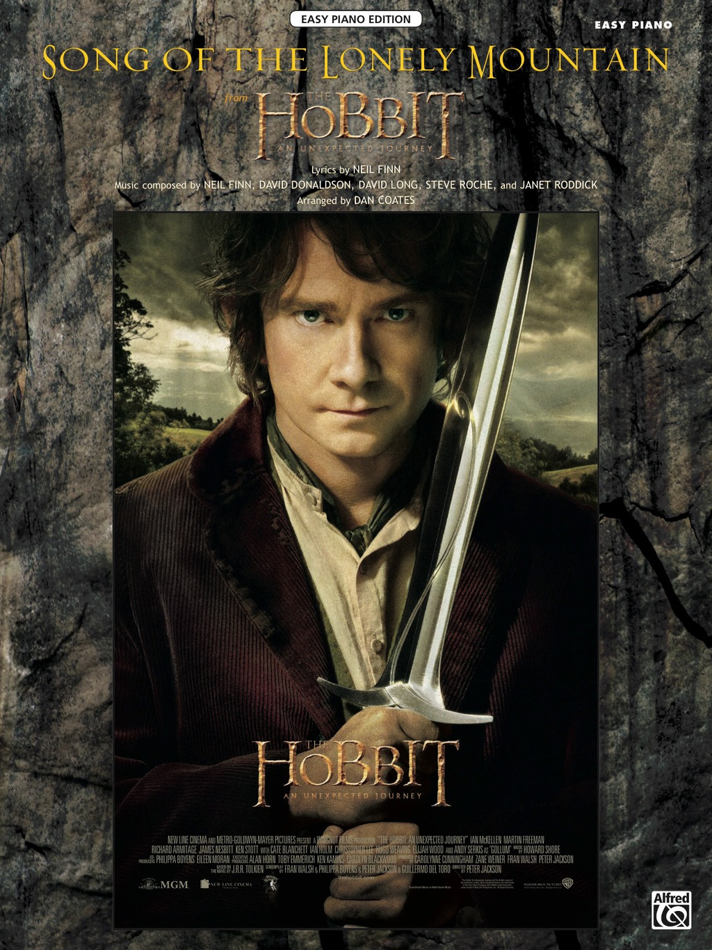 "Song of the Lonely Mountain (from ""The Hobbit: An Unexpected Journey""): Easy Piano Solo (ebook) eBooks"