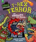 Welcome to NEW DINO CITY, a dino-tropolis in dino-DANGER! Tyrant tyrannosaur T-REX and his army of ninja Raptors are determined to take over the city one way or another
