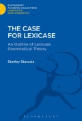 Starosta describes the formal properties of lexicase theory and its historical and metatheoretical relations to other current grammatical frameworks
