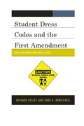 Students' early morning decisions about what to wear to school have led many school districts into legal issues and policy challenges