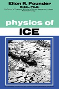 The Physics of Ice covers the state of knowledge regarding the structure, properties, occurrence, and movement of ice