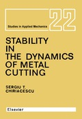 Stability in the Dynamics of Metal Cutting 9781483291758