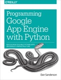 This practical guide shows intermediate and advanced web and mobile app developers how to build highly scalable Python applications in the cloud with Google App Engine