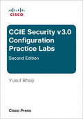 CCIE Security v3.0 Configuration Practice Labs presents you with two full lab scenarios in exam style format to echo the actual eight hour CCIE Security lab exam