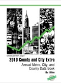When you want only one source of information about your city or county, turn to County and City Extra This trusted reference compiles information from many sources to provide all the key demographic and economic data for every state, county, metropolitan area, congressional district, and for all cities in the United States with a 2000 population of 25,000 or more