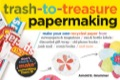 "Transform junk mail, newspapers, comic books, wrapping paper, food can labels, and old phone books into beautiful hand-made paper in just minutes! ""Trash-To-Treasure Papermaking"", the ultimate guide for crafty recyclers, is every family's answer to the problem of too much paper waste"