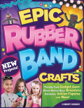 This ultimate guide to making rubber band gear shows how to use a Rainbow Loom®, Cra-Z-Loom™, or FunLoom™ to make 15 of coolest and most colorful projects around.