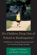 For years, we have considered school dropout rates as a problem occurring at the high-school level