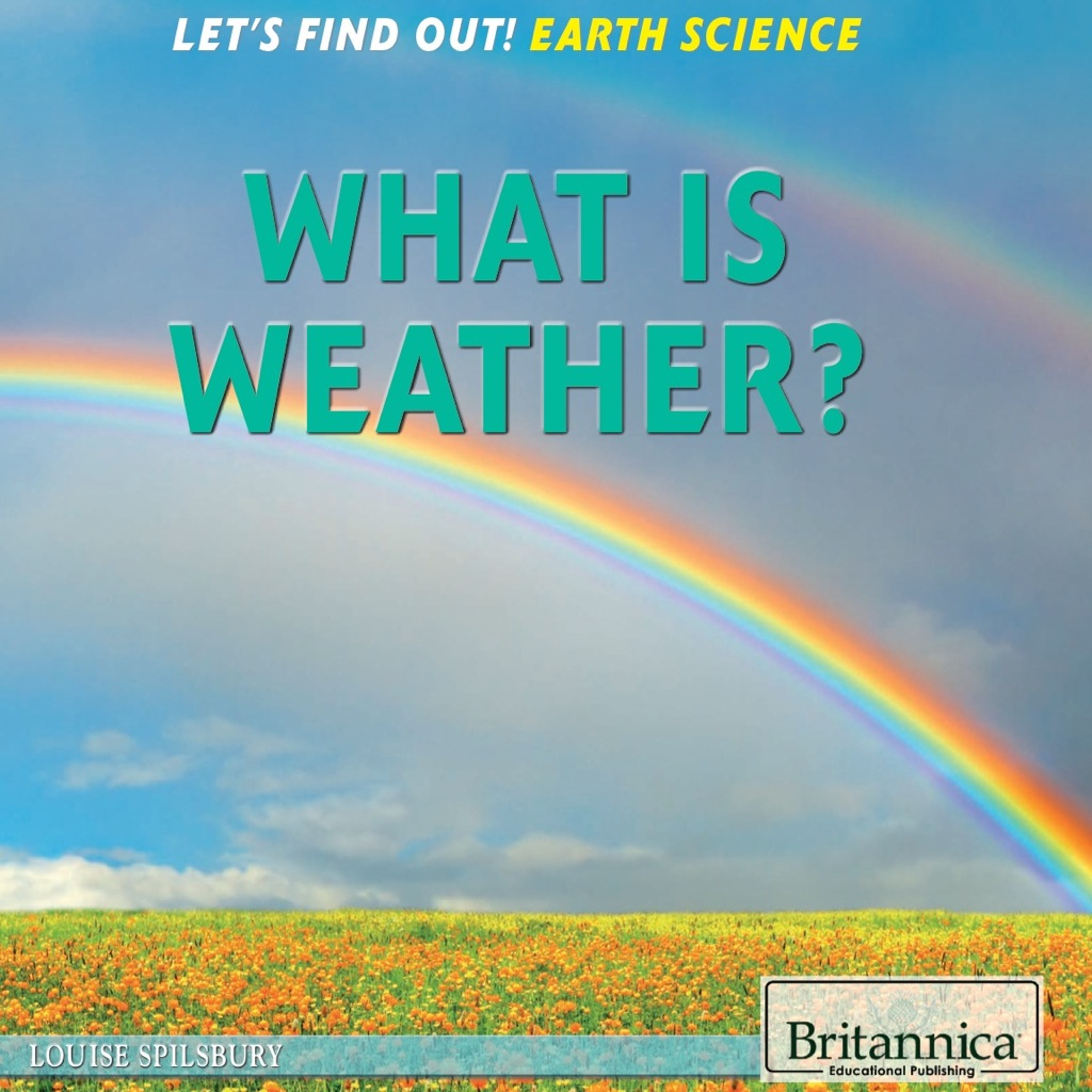 What Is Weather? (ebook) eBooks