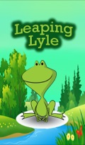 Lyle is a baby toad who is just learning how to hop
