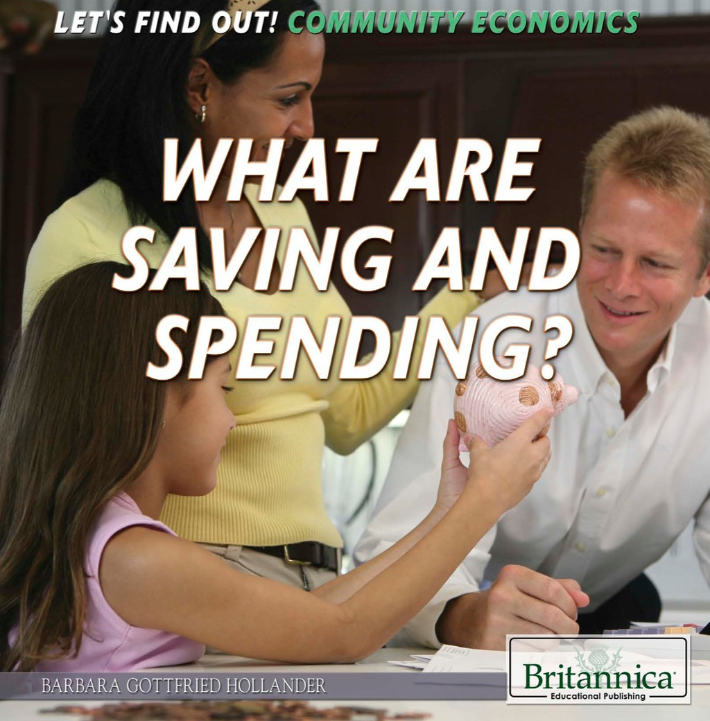 What Are Saving and Spending? (ebook) eBooks