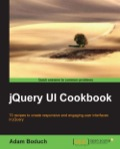 Filled with a practical collection of recipes, jQuery UI Cookbook is full of clear, step-by-step instructions that will help you harness the powerful UI framework in jQuery