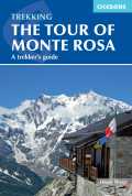 A guidebook to walking the The Tour of Monte Rosa, a 9-10 day, 134km trek circling Monte Rosa anti-clockwise from Zermatt