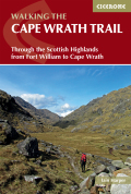 A guidebook to the Cape Wrath Trail, a long-distance trek through the Scottish Highlands from Fort William to Cape Wrath