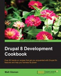 Over 60 hands-on recipes that get you acquainted with Drupal 8's features and help you harness its powerAbout This Book• Discover the enhanced content authoring experience that comes with Drupal 8 and how to customize it• Take advantage of the broadened multilingual and tools of the new version to provide an internationalized website• This step-by-step guide will show you how to deploy from development, staging, and production of a website with Drupal 8's brand new configuration management systemWho This Book Is ForThis book is for those have been working with Drupal, such as site builders, back-end developers, and front-end developers, and who are eager to see what awaits when they start using Drupal 8What You Will Learn• Extend Drupal through contributed or custom modules and themes• Develop an internationalized website with Drupal's multilingual tools• Integrate third-party front-end and back-end libraries with Drupal• Turn Drupal into a web services provider using REST• Create a mobile-first responsive Drupal application• Run SimpleTest and PHPUnit to test Drupal• Understand the plugin system that powers many of Drupal 8's new APIs to extend its functionality• Get to grips with the mechanics of the configuration management system and the ability to import and export site configurationIn DetailBegan as a message board, Drupal today is open source software maintained and developed by a community of over 1,000,000 users and developers