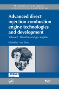 Advanced Direct Injection Combustion Engine Technologies And Development: Gasoline And Gas Engines