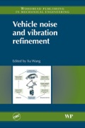 Vehicle Noise and Vibration Refinement 9781845698041