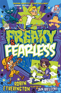 The FREAKY comic world collides with three FEARLESS kids in an explosion of fun, action, laughs and adventure!Simon Moss is just an ordinary boy who loves action comics and wishes he were brave enough to star in one